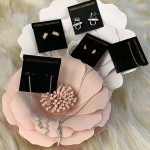 REBECCA MINKOFF Earrings necklace bundle NEW